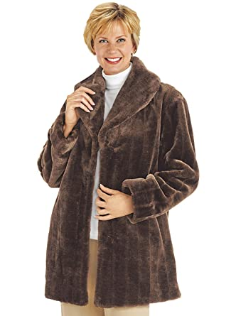 Carol Wright Gifts Women's Fur Jacket at Amazon Women's Coats Shop